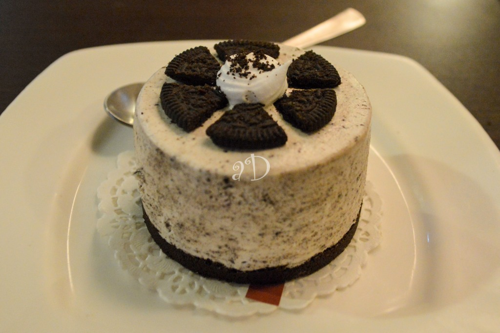 Oreo cheesecake, At Piccadilly Square