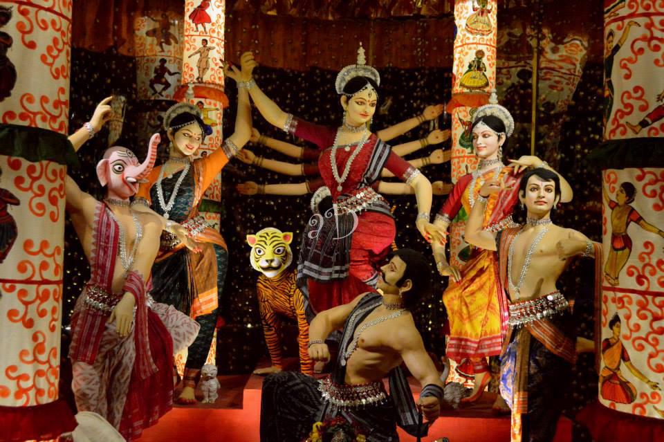 ALIPUR SARBOJONIN 2014- The Goddess in Odissi Avatar