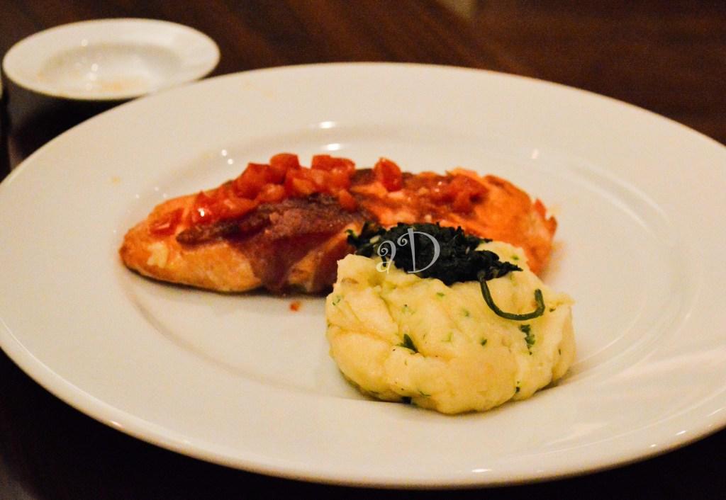 As Salmon and Potato mash replace the Ilish and Alu Bhaja on the Bengali's Plate