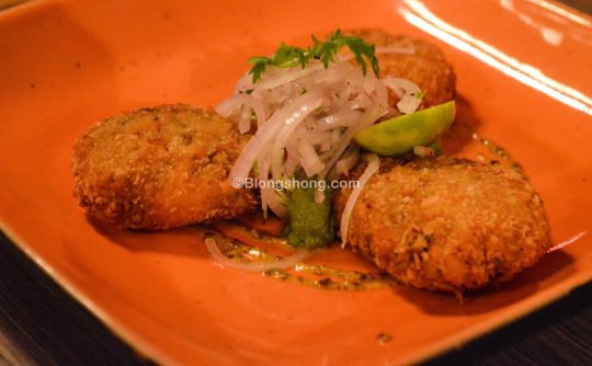 Tikki of Joy- Kolkata isnpired Bhetki Fish Cutlets